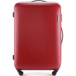 Walizka duża 56-3-613-30. Czerwone walizki marki Wittchen, z gumy, duże. Za 279,00 zł.