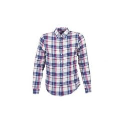 Koszule Gant  COTTON FLANNEL CHECK SHIRT. Szare koszule nocne i halki marki GANT. Za 383,20 zł.