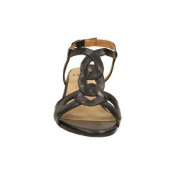 Sandały Caprice  SANDAŁY  9-28211-24. Różowe sandały damskie marki Caprice, z materiału. Za 169,99 zł.