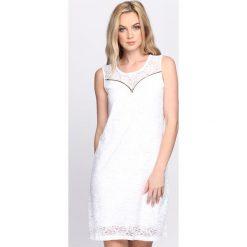 Sukienki: Biała Sukienka Wise Decision