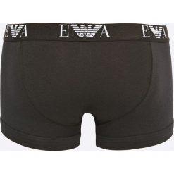 Emporio Armani Underwear - Bokserki (2-pack). Szare bokserki męskie marki Emporio Armani, l, z nadrukiem, z bawełny, z okrągłym kołnierzem. W wyprzedaży za 119,90 zł.