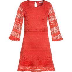 Sukienki dziewczęce z falbanami: Mini Molly GIRL DRESS Sukienka koktajlowa red