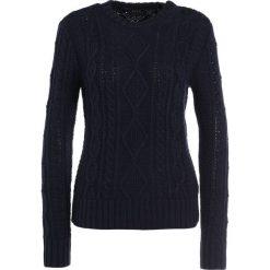 Swetry klasyczne damskie: Polo Ralph Lauren LONG SLEEVE Sweter hunter navy