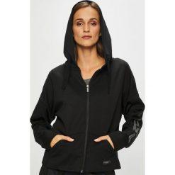 Puma - Bluza Fusion Fz. Czarne bluzy rozpinane damskie Puma, l, z bawełny, z kapturem. W wyprzedaży za 229,90 zł.