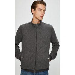 Pierre Cardin - Bluza. Czarne bluzy męskie rozpinane marki Pierre Cardin, l, z bawełny, bez kaptura. W wyprzedaży za 359,90 zł.