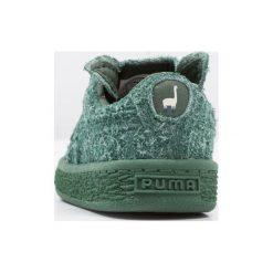 Puma X TC BASKET FURRY INF Tenisówki i Trampki dark green/birch. Zielone tenisówki męskie Puma, z materiału. W wyprzedaży za 239,20 zł.