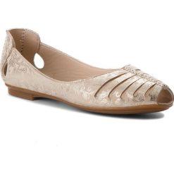 Sandały damskie: Sandały LANQIER - 40C367 Beżowy