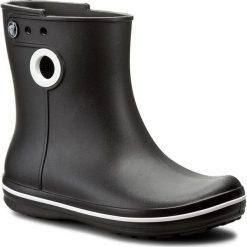 Kalosze CROCS - Jaunt Shorty Boot W 15769 Black. Różowe buty zimowe damskie marki Crocs, z materiału. W wyprzedaży za 149,00 zł.