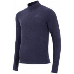 Odzież termoaktywna męska: 4F Męska Podkoszulka Z Długim Rękawem H4Z17 bimp001 Granat Ciemny S