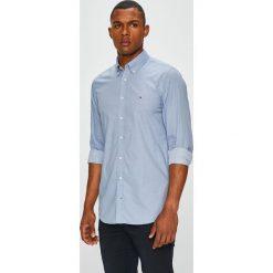Tommy Hilfiger - Koszula. Szare koszule męskie na spinki TOMMY HILFIGER, l, z bawełny, button down, z długim rękawem. Za 299,90 zł.