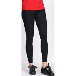 Spodnie damskie: Czarne Spodnie Militate