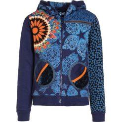 Desigual DANTE Bluza rozpinana blue. Niebieskie bluzy dziewczęce rozpinane marki Desigual, z bawełny. W wyprzedaży za 199,20 zł.