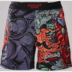 Ground Game Sportswear Spodenki MMA Tengu szare r. XL. Szare spodenki sportowe męskie Ground Game Sportswear, sportowe. Za 139,88 zł.