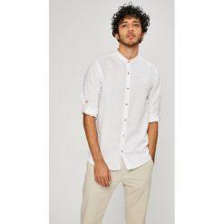 Medicine - Koszula On The Go. Szare koszule męskie na spinki marki MEDICINE, m, z bawełny, ze stójką, z długim rękawem. W wyprzedaży za 79,90 zł.