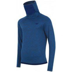 4F Bielizna Męska H4Z17 bimd001 Granatowy Melanż L. Niebieskia odzież termoaktywna męska marki 4f, l, melanż, z polaru, z długim rękawem. W wyprzedaży za 69,00 zł.