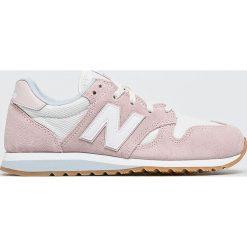 New Balance - Buty WL520CI. Czerwone buty sportowe damskie marki New Balance, z gumy. W wyprzedaży za 319,90 zł.