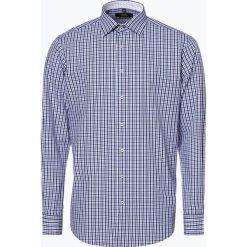 James - Koszula męska łatwa w prasowaniu, niebieski. Niebieskie koszule męskie na spinki James, m, z bawełny. Za 179,95 zł.