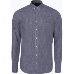 Tommy Hilfiger - Koszula męska, niebieski. Szare koszule męskie slim marki TOMMY HILFIGER, z bawełny. Za 349,95 zł.
