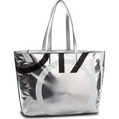 Torebka CALVIN KLEIN - Loud Shopper Metalic K60K604656  904. Szare shopper bag damskie marki Calvin Klein, ze skóry ekologicznej, na ramię. Za 549,00 zł.