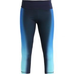Legginsy: GAP Legginsy ombre gradient blue