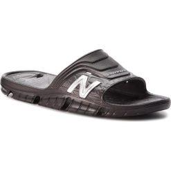 Klapki NEW BALANCE - SD104BS Czarny. Czarne klapki męskie marki New Balance, z tworzywa sztucznego. Za 69,99 zł.