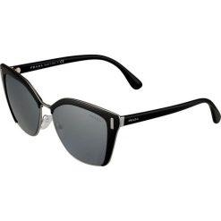 Okulary przeciwsłoneczne damskie aviatory: Prada Okulary przeciwsłoneczne black/gunmetal