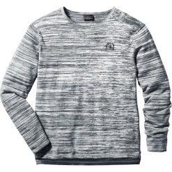 Swetry męskie: Sweter melanżowy Regular Fit bonprix antracytowo-biel wełny melanż