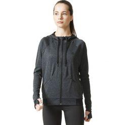 Bluzy rozpinane damskie: Adidas Bluza damska PERF FZ Hoody A grafitowa r.  S (CD9620)