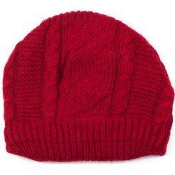 Czapka damska Angorowa dama czerwona (cz13361). Czerwone czapki zimowe damskie Art of Polo. Za 37,60 zł.