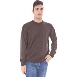 Sweter w kolorze brązowym. Brązowe swetry klasyczne męskie Just Cavalli, Calvin Klein, Lee, m, z okrągłym kołnierzem. W wyprzedaży za 129,95 zł.