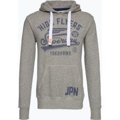 Bejsbolówki męskie: Superdry - Męska bluza nierozpinana – High Flyer Rework Classic Hood, szary