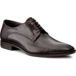 Derby męskie: Półbuty BOSS - Carmons 50228940 1014818801 Dark Brown 201