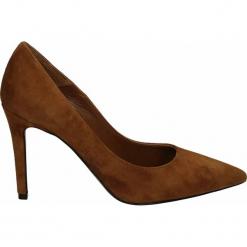 Czółenka - 0921 CAM COGN. Brązowe buty ślubne damskie Venezia, ze skóry. Za 239,00 zł.