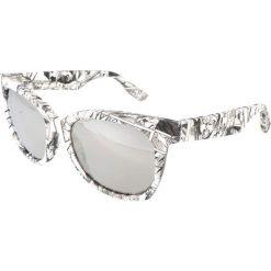 """Okulary przeciwsłoneczne damskie aviatory: Okulary przeciwsłoneczne """"0001/S RBZ/SS"""" w kolorze biało-czarnym"""