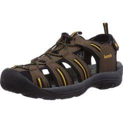 Sandały męskie: KAMIK sandały M'S CAPEMAY, r.45 brązowe (HK0029-DBR-45)