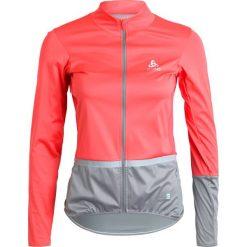 ODLO MISTRAL Kurtka do biegania bittersweet/steel grey. Czerwone kurtki damskie Odlo, xl, z materiału, do biegania. W wyprzedaży za 293,30 zł.
