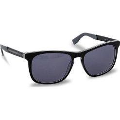 Okulary przeciwsłoneczne BOSS - 0245/S Black Ruthen QDK. Czarne okulary przeciwsłoneczne męskie wayfarery marki Boss. W wyprzedaży za 459,00 zł.