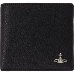 Vivienne Westwood MILANO MAN WALLET WITH COIN Portfel black. Czarne portfele męskie Vivienne Westwood. Za 549,00 zł.