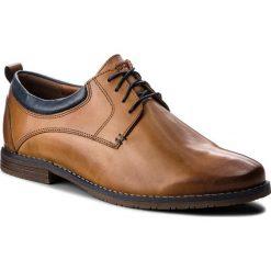 Półbuty LASOCKI FOR MEN - MB-STEVEN-02 Brązowy. Brązowe buty wizytowe męskie Lasocki For Men, z materiału. Za 179,99 zł.