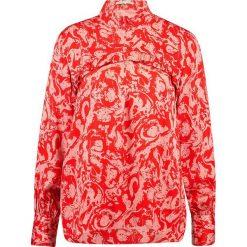 Bluzki asymetryczne: Second Female MARBLE BLOUSE Bluzka lava