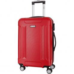 Walizka w kolorze czerwonym - 86 l. Czerwone walizki Bagstone & Travel One, z materiału. W wyprzedaży za 319,95 zł.