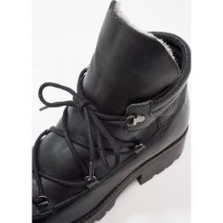 KIOMI Ankle boot black. Niebieskie botki damskie skórzane marki KIOMI. Za 379,00 zł.
