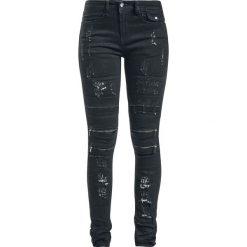 RED by EMP Megan Jeansy damskie czarny. Czarne jeansy damskie RED by EMP. Za 244,90 zł.