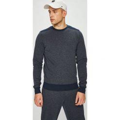Tommy Hilfiger - Bluza. Czarne bluzy męskie rozpinane marki TOMMY HILFIGER, l, z bawełny, bez kaptura. Za 299,90 zł.