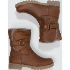 Panama Jack FELIA IGLOO Botki cognac. Brązowe buty zimowe damskie Panama Jack, z wełny. W wyprzedaży za 571,35 zł.