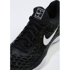 Nike Performance AIR ZOOM CAGE 3 HC Obuwie do tenisa Outdoor black/white/anthracite. Czarne buty do tenisa męskie Nike Performance, z materiału. Za 549,00 zł.