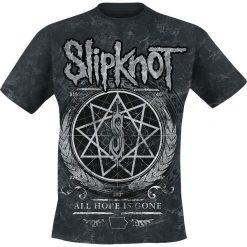 Slipknot Blurry Allover T-Shirt czarny. Czarne t-shirty męskie z nadrukiem Slipknot, s, z dekoltem na plecach. Za 99,90 zł.