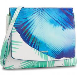 Torebka DESIGUAL - 18SAXPEN Torquesa 5013. Niebieskie listonoszki damskie Desigual, ze skóry ekologicznej, na ramię. W wyprzedaży za 169,00 zł.