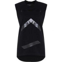 KCALAB TANK RAW EDGE Top black. Czarne topy sportowe damskie KCA Lab, xs, z bawełny. Za 299,00 zł.