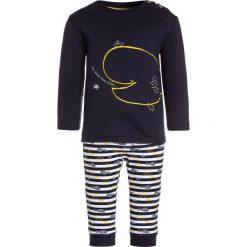 Chinosy chłopięce: Absorba ENSEMBLE LONG PIED DANS LEAU BABY SET  Spodnie materiałowe marine